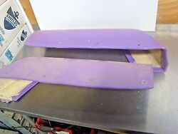 Yamaha Fx-1 Matts Foot Tray Side Pads Right And Left Fx700 Fx-1 61x 701 Fx1