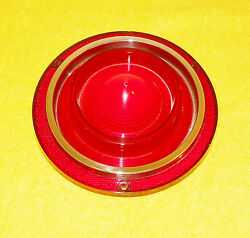 1962 Ford Galaxie 500 Xl Victoria Sunliner Orig Nos Rear Tail Light Lamp Lens
