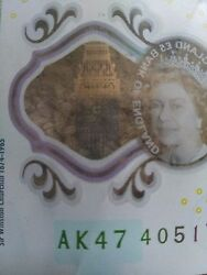 Ak 47 Andpound5 Note Great Condition