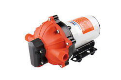 High Pressure Water Pump 12 V Dc 60 Psi 5.5 Gpm 1/2 In. Fittings Replace Flojet