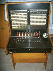 1920s -50s Antique Bell System Western Electric Telephone Switchboard