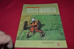 New Holland 120 Tractor Mower Brochure Yabe13
