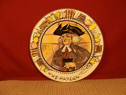 Royal Doulton The Professionals Series Plate 10 1/2 The Parson D6280