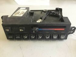 94 95 96 CORVETTE C4 MANUAL CLIMATE AC HEAT CONTROL HEAD UNIT