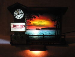 Hamms Beer Dusk To Dawn Sign Replacement Parts - Hamms Sunrise To Sunset Sign