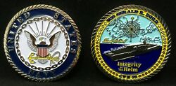 Uss Gerald R. Ford Cvn 78 Enlisted Challenge Coin