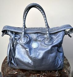 Marc by Marc Jacobs Staples & Studs Large Satchel Leather Bag Sold Out 2008 Rare