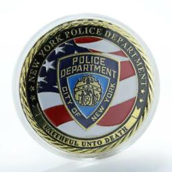 Police Department Of New York Faithful Unto Death Security And Justice Token