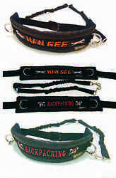 Mm Doggear Personalised Dog Walking Belt With Bungee Lines