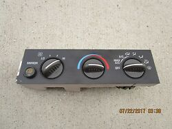01 - 06 CHEVY EXPRESS 1500 2500 AC HEATER CLIMATE TEMPERATURE CONTROL 15858577
