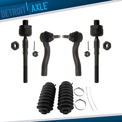 Brand New 6pc Complete Front Suspension Kit For Fusion Lincoln Mkz Zephyr Milan