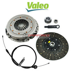 VALEO KING COBRA MOTORCRAFT HD CLUTCH KIT w CABLE 86-95 FORD MUSTANG