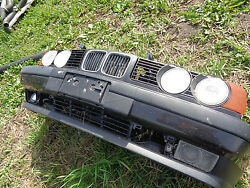 1989 BMW E34 525 Eurospec Front section Grille Bumper Headlights etc