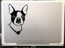 Boston Terrier Dog breed decal door wall car truck SUV decal sticker 6