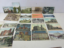 23 Early 1900and039s Columbus Ohio Postcards -armory Prison And More Pc105