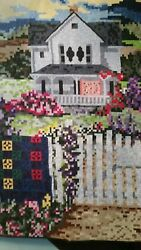 The Home Of A Quilter Mosaic Art Quilt