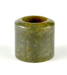 Large Early Chinese Nephrite Jade Archerand039s Thumb Ring