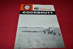 Cockshutt Oliver Tractor 402 Swather Dealers Brochure Yabe14