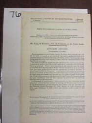 Government Report 1895 Public Lands In Yuma Colorado Repeal An Act 76