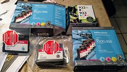 Genuine Hp Ink Cartridges Color 933 And Black 932 Never Used - Free Shipping
