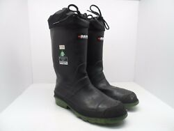 Baffin Men's Hunter Steel Toe Steel Plate Work Boots BlackForest Size 9M