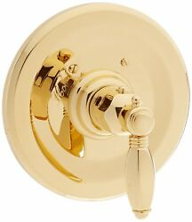 Rohl Country Bath Collection Thermostatic Shower Valve Trim Inca Brass A4914lhib