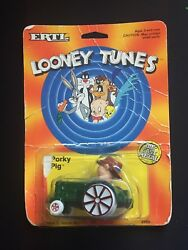 Ertl Car 1988 Looney Tunes, Porky Pig Tractor Loose Damaged Package