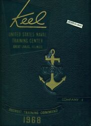 1968 U. S. Navy Basic Training School Yearbook, The Keel, Co. 4, Great Lakes, Il