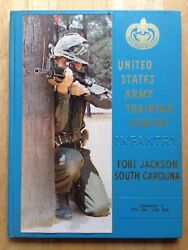 1973 U.s. Army Basic School Yearbook, Co. C, 8th Bn, 2nd Brg., Fort Jackson, Sc