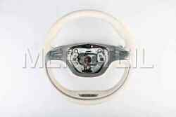 New Mercedes-benz Amg W222 Leather Steering Wheel