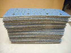 69 Norton Multi Air Blue Fire 2-3/4 X 8 Auto Body H And L Cut Sheets Ships Free