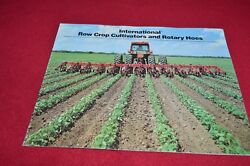 International Harvester Cultivators And Rotary Hoes Dealers Brochure Yabe14
