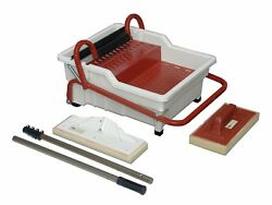 Raimondi Wash Master Pedalo Grout Cleaning System With Handle Sponges And Pole
