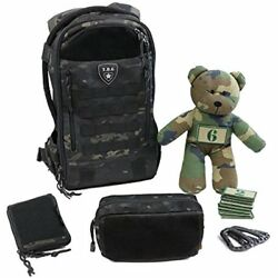 Tactical Diaper Bags Baby Gear Daypack 3.0 Full Load Out Backpack Set (Black