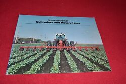 International Harvester Rotary Hoes And Cultivators Dealers Brochure Yabe14