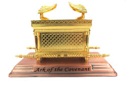 Ark Of The Covenant Box Gold Color Metal From Jerusalem A Jewish Souvenir