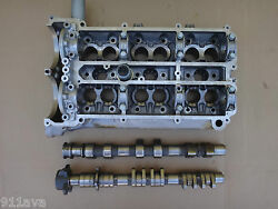 Porsche 996 Turbo Gt 2 Engine Parts 1 Camshaft Housing Right With Cams And Caps