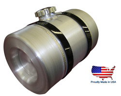 Spun Aluminum Gas Tank - 3.25 Gal - Baffle And Vent Tube - Motorcycle Auxiliary