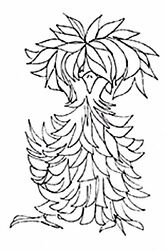 Fluffy Feather Chicken Wood Mounted Rubber Stamp IMPRESSION OBSESSION E13559 New