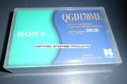 New Sony Qgd170me Ame 170m Data Tape Cartridge Mammoth 312629 Sealed