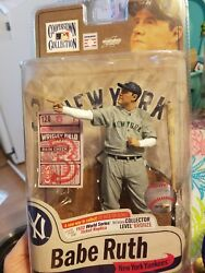 Rare 427 Out Of 1000 Babe Ruth Mcfarlane 1932 World Series Ticket Replica