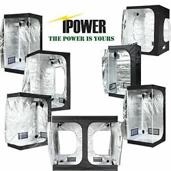 iPower Hydroponic Mylar Grow Tent for Fan Filter and Indoor Plant Growing