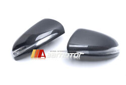 Replacement Carbon Fiber Side Mirror Cover Fit For Mercedes W205 W213 W222 C E S