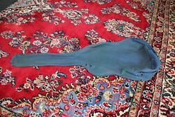 Us Civil War Original Confederate Guitar Cover Pouch. With Letter And Provenance.