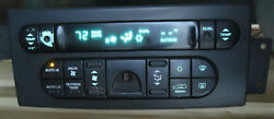 Pacifica Heater Climate Control 05005080 05-06 AC Chrysler  I2217080C