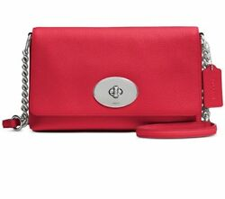 NWT Coach Crosstown Crossbody In Polished Pebble Leather 53083 $89.00