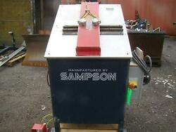 Sampson Model Gl 2 Window Machine Vac 200