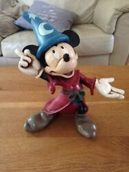 Extremely Rare Walt Disney Mickey Mouse Fantasia Old Figurine Statue