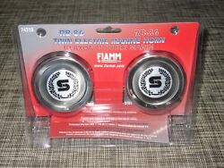 New Fiamm Signaltone Mini Boat Horn Dual Compact Twin 74310-23 Stainless 12v