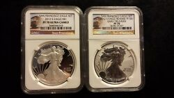 2012 S 1 Oz Silver American Eagle Coin Ms-70 Ngs - Early Release. Freeshipping